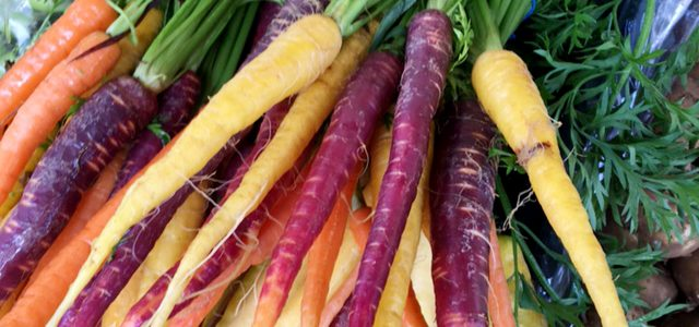 Seasonal Vegetables at St Nicks Market